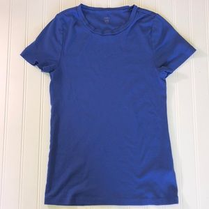 J. Crew Fitted T-shirt in royal blue Large